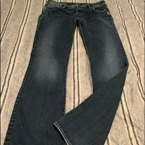Silver jeans for women. EUC